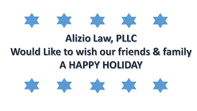 Holiday Card - Alizio Law, PLLC