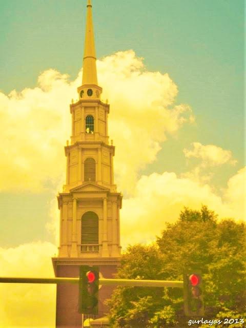 Park Street Church Boston steeple by gurlayas.blogspot.com