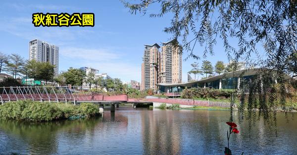 台中西屯|秋紅谷景觀生態公園|滯洪生態池|美好書席|日夜都有浪漫景色