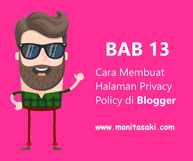 Cara Membuat Privacy Policy di Blog (Adsense Part 2)