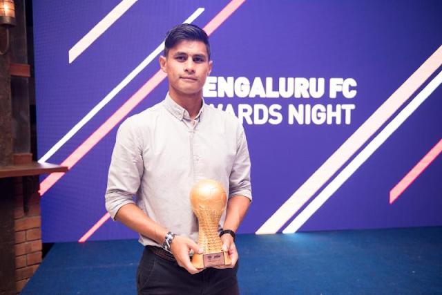 John Johnson Named Players' Player At Bengaluru FC Awards Night