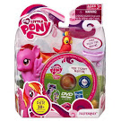 MLP Single with DVD Feathermay Brushable Pony