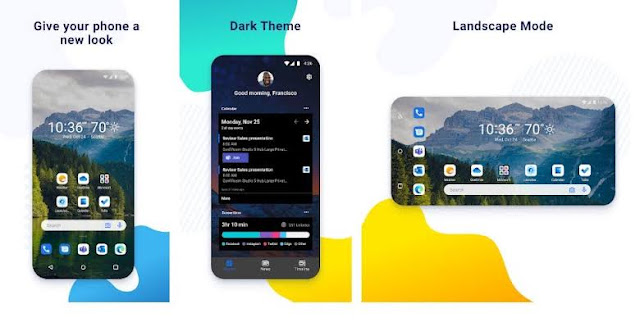 Microsoft Released Dark Mode In Android Launcher