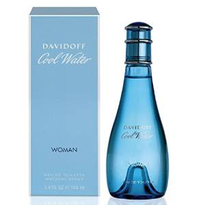 Davidoff Women's Cool Water Eau de Toilette Spray, 3.4 fl. oz