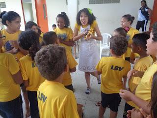 Notinha: Dia Internacional do Livro Infantil é celebrado pelas crianças da LBV em CG