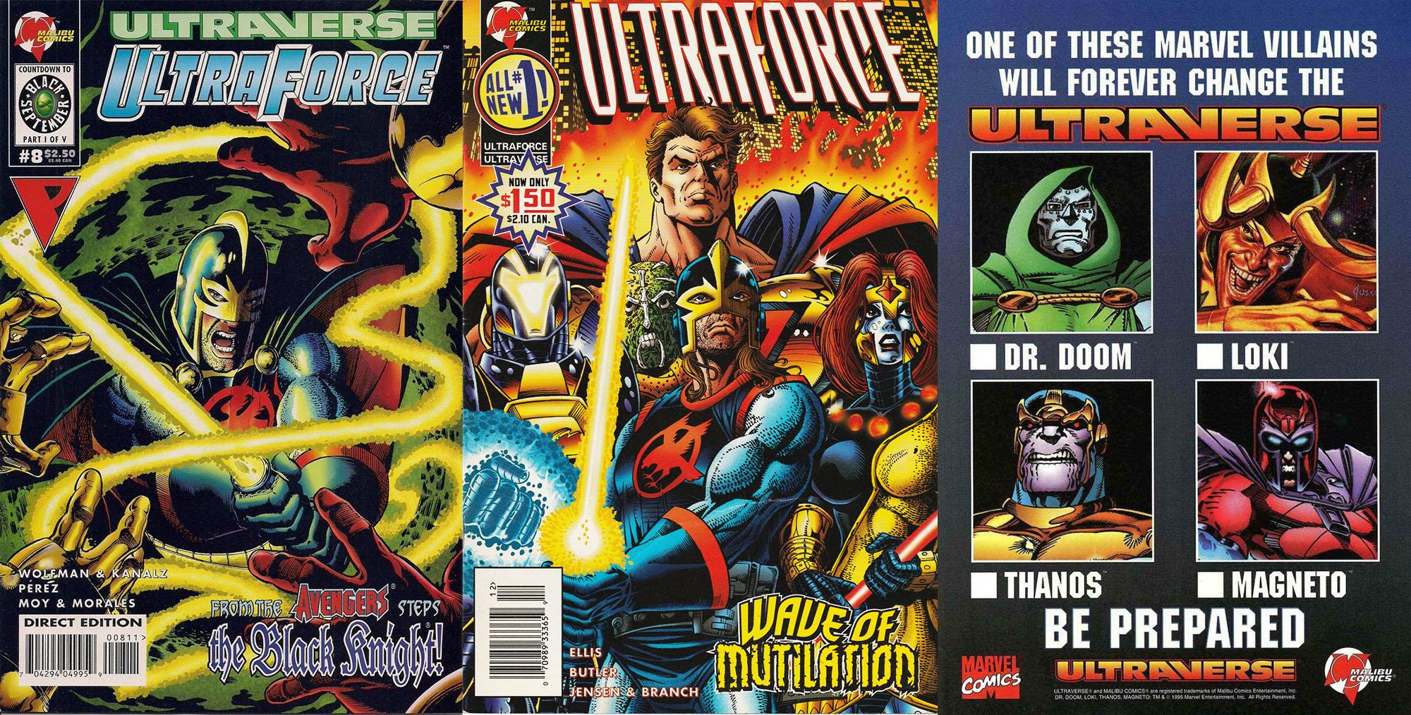 Cavaliere Nero Ultraverse Marvel