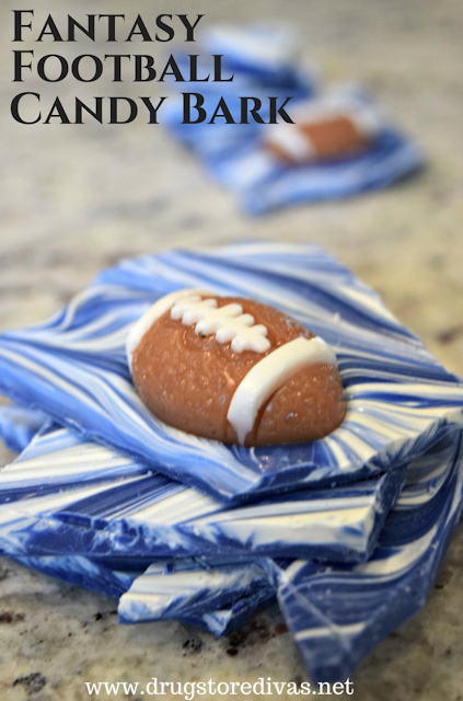 blue football game party food ideas