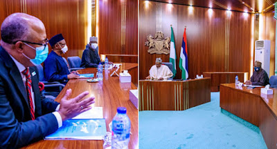 Buhari Receives Briefing On COVID-19 From PTF