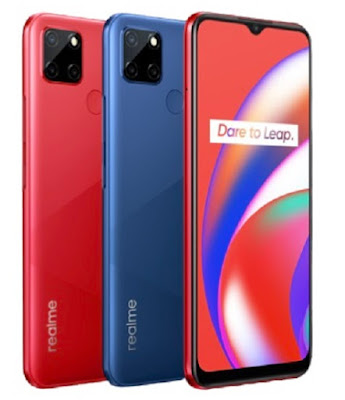 Realme C12 Launched With 6.5inch Mini Drop Display, 13MP Camera, 6000mAh Battery & More
