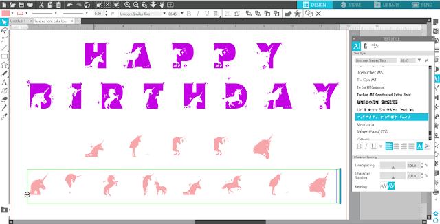 layered fonts, heat transfer vinyl, heat press, banner, fonts