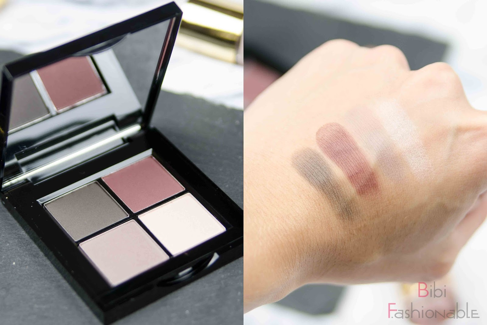 Catrice Kaviar Gauche Limited Edition Lidschatten Quad offen Swatches