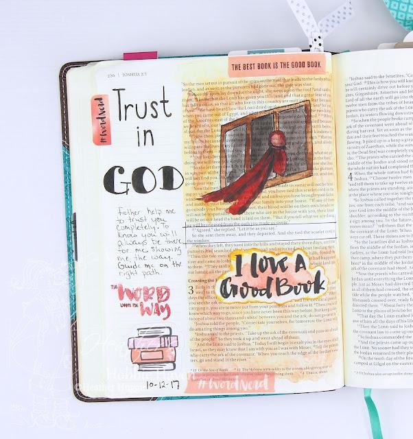 Heather's Hobbie Haven - Illustrated Faith - Word Nerd - Week 2