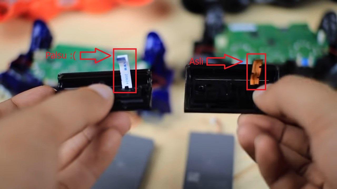 Kondisi Hardware Joystick DS4 Asli
