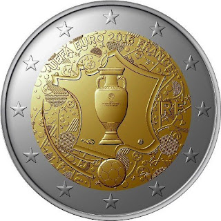 2€ UEFA EURO 2016 France