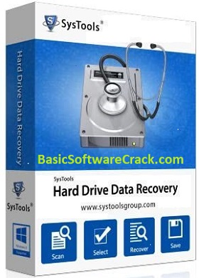 SysTools hard drive data recovery License file
