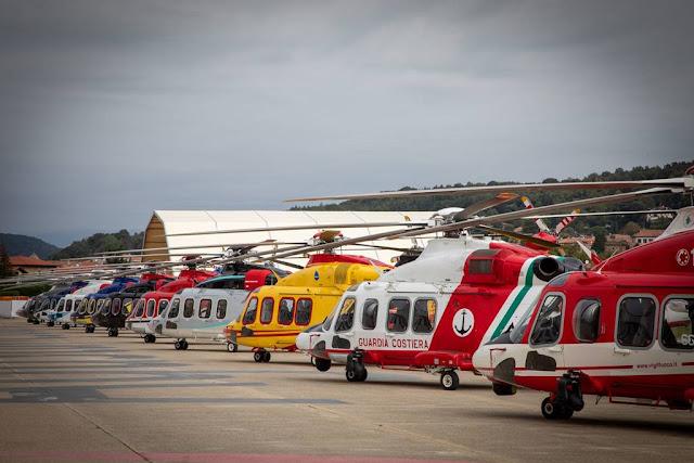 Leonardo consegna millesimo elicottero AW139
