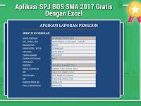 Aplikasi SPJ BOS SMA 2017 Gratis Dengan Excel
