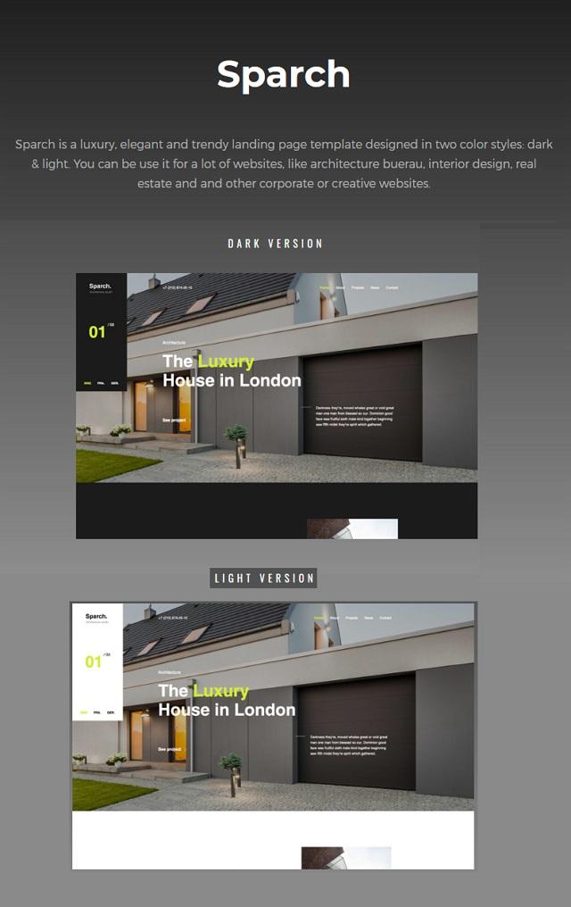 Architecture & Interior Template