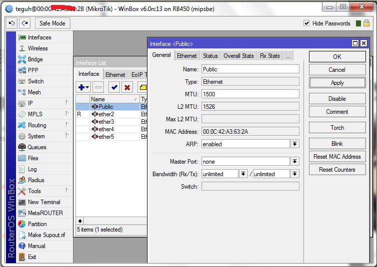 Cara Setting Mikrotik Hap Lite Menggunakan Winbox