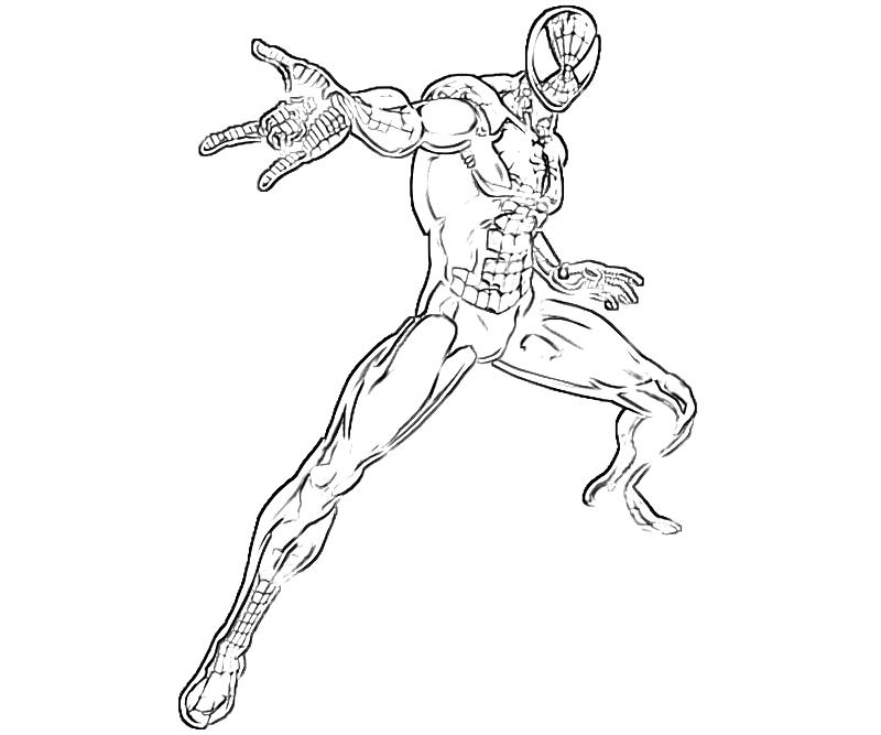 Spiderman Logo Coloring Pages Excellent Top Free Printable