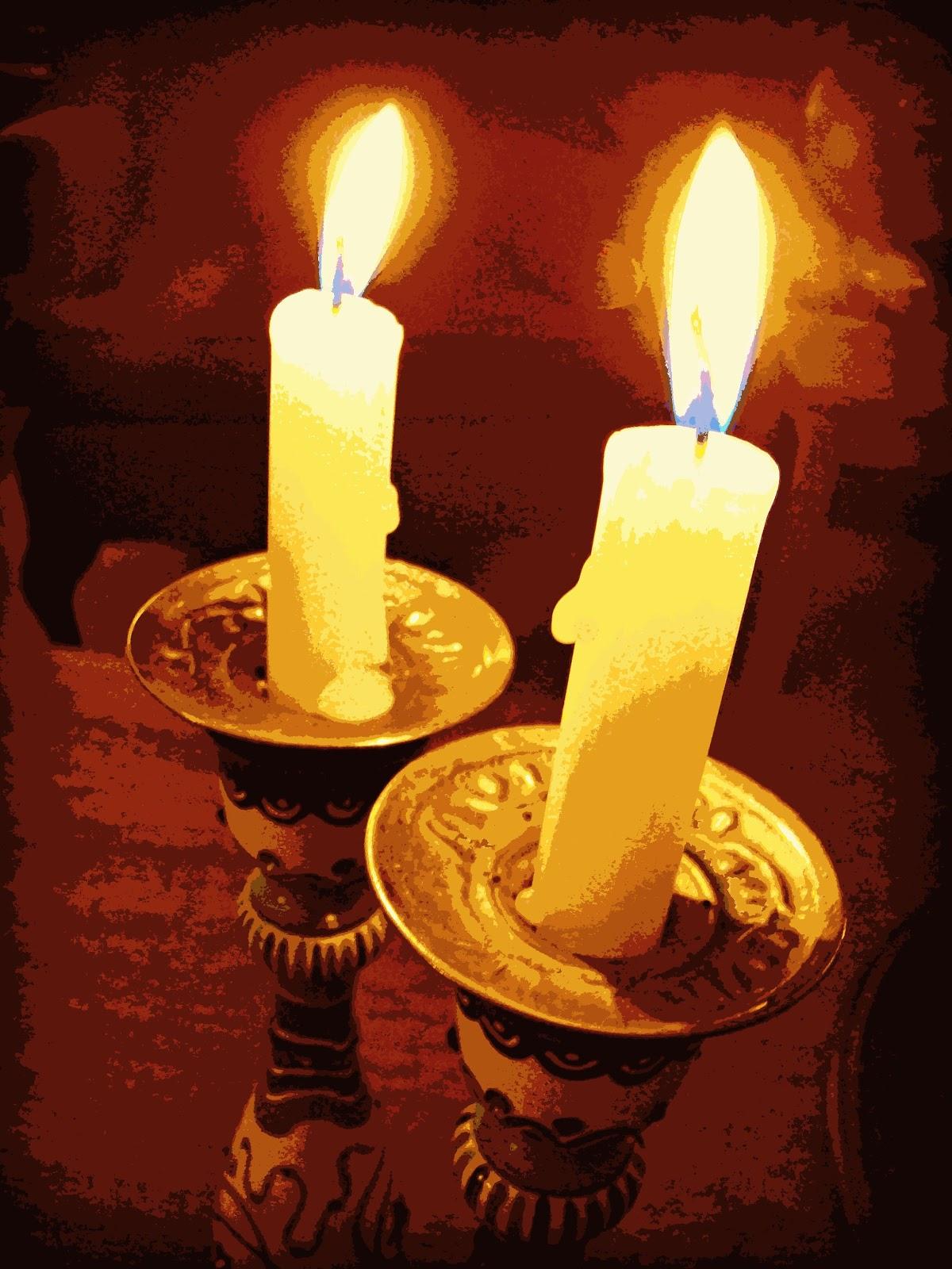 shabbat candle lighting | Decoratingspecial.com