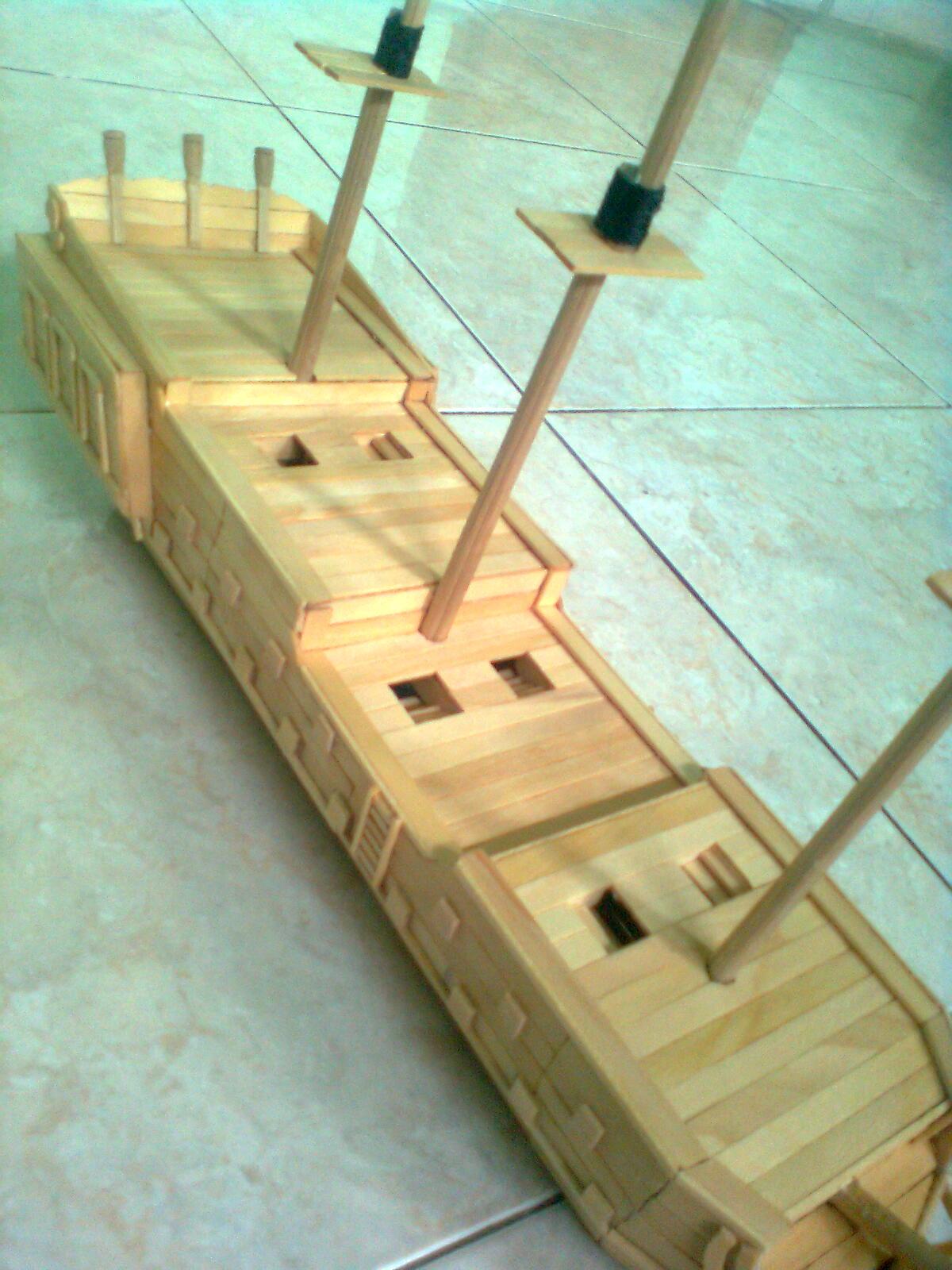 Cara Membuat Kapal Dari Kardus : membuat, kapal, kardus, Kapal, Perang, Kardus