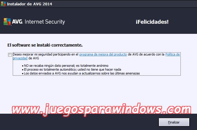 AVG Internet Security v2014.0.4765 Multilenguaje ESPAÑOL Protección Total Para Tu PC 2