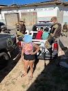 """Polícia Militar estoura """"boca de fumo"""" e prende três pessoas em Rafael Fernandes"""
