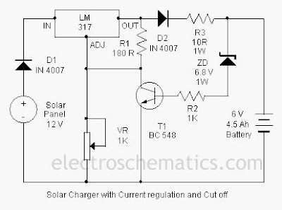 Solar Charger Circuit By Lm317 Diagram Wiring Jope