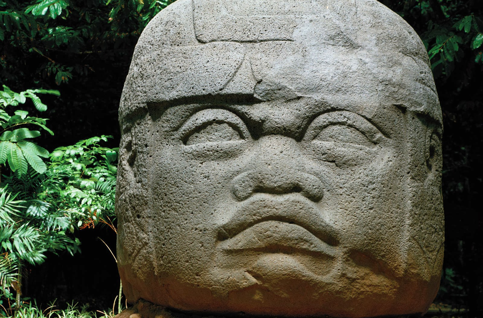 The Olmecs The Mysterious Rubber People