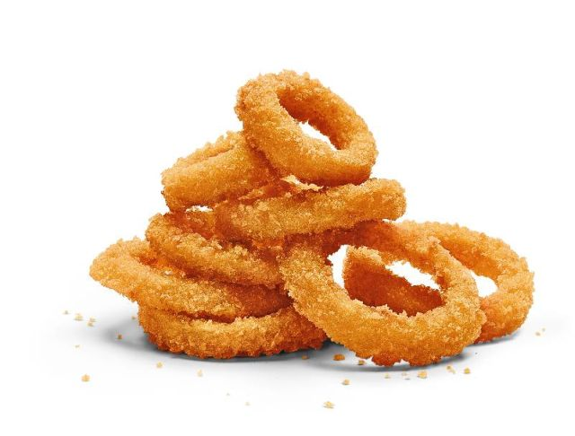 ... Panko Onion Rings to permanently replace their previous onion rings