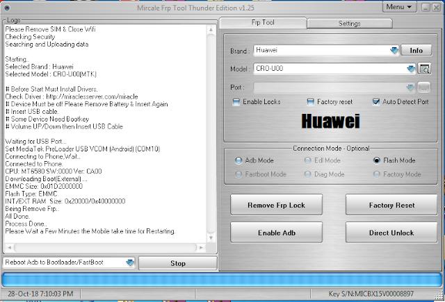 Try These Huawei Cro U00 Frp Inferno {Mahindra Racing}