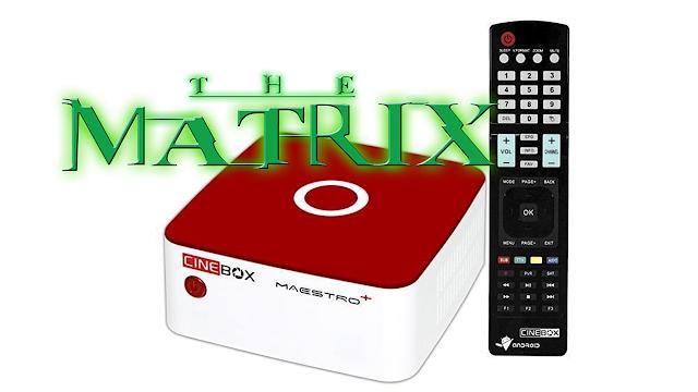 Cinebox Maestro Plus Nova Atualização V1.60.0 - 26/03/2020