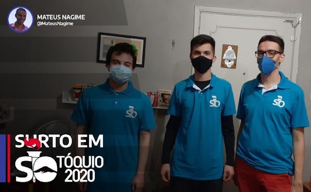 Nathan Raileanu, Wesley Felix, Mateus Nagime Surto Olímpico