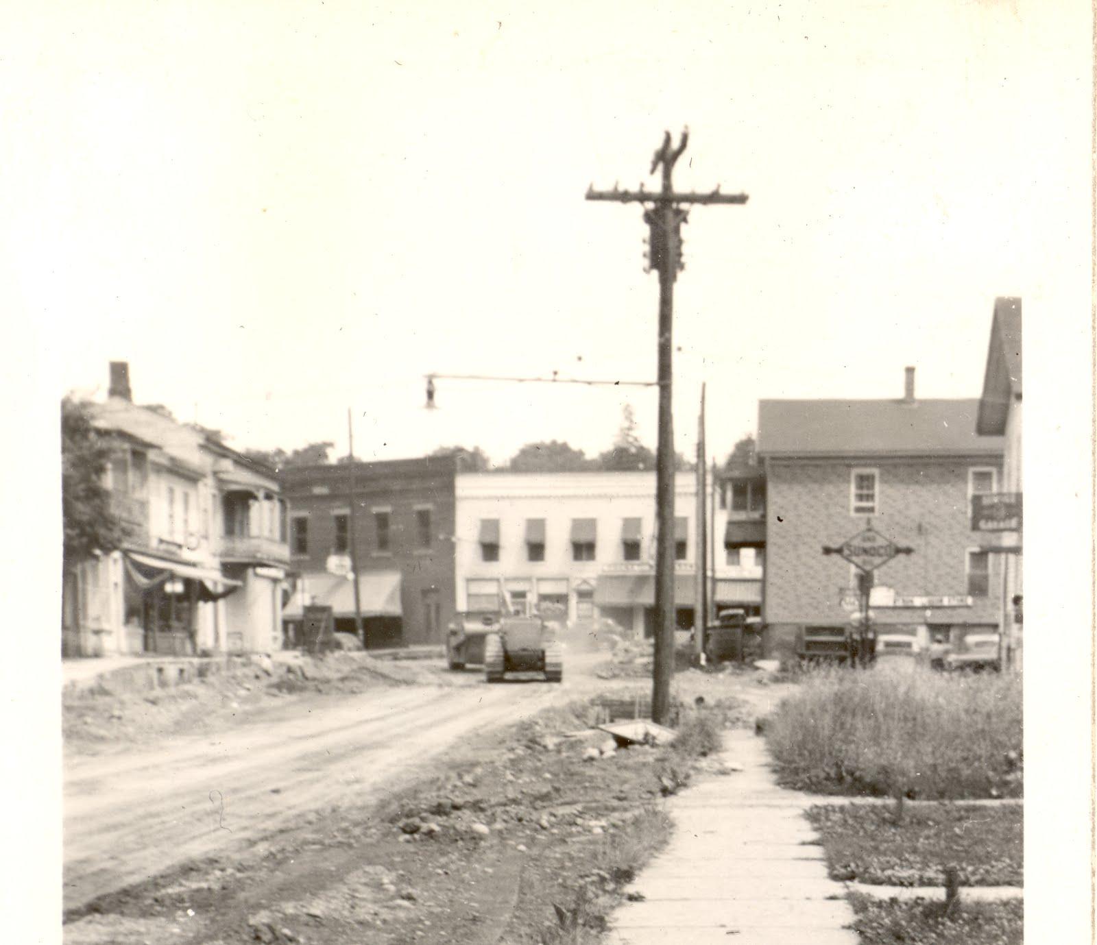 Lock 52 Historical Society Of Port Byron Ny 1947 Road Work
