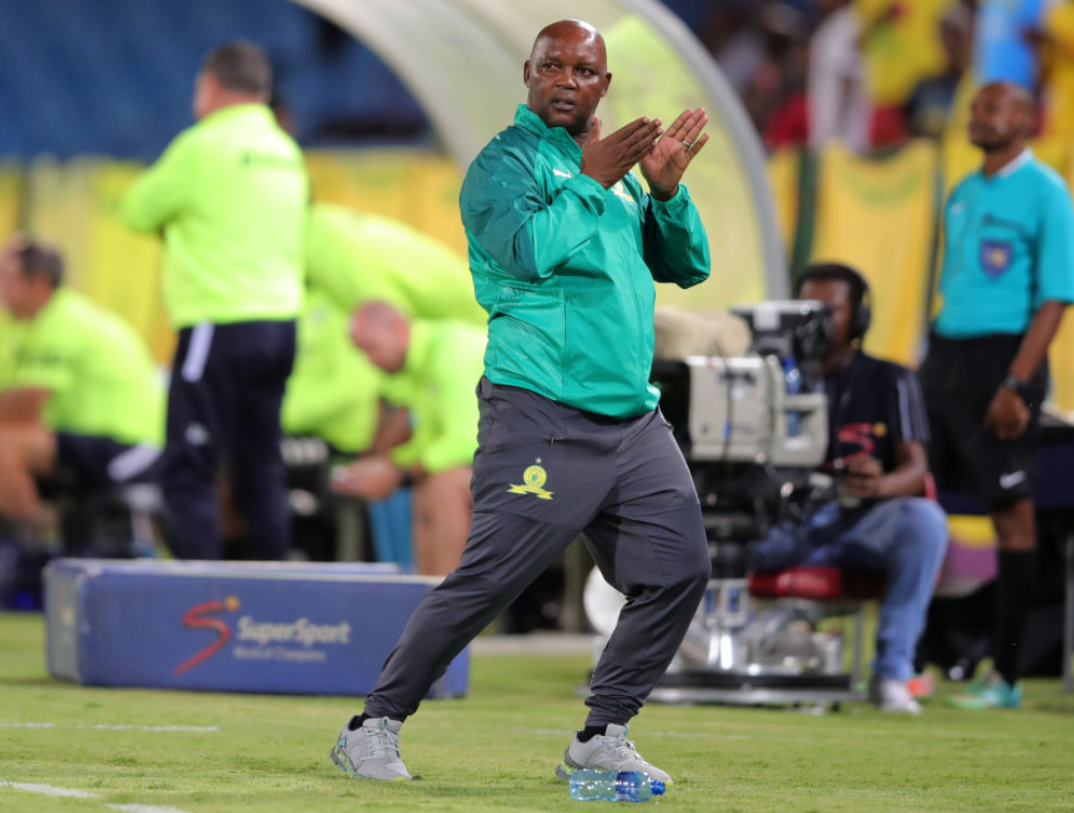 Mamelodi Sundowns head coach Pitso Mosimane
