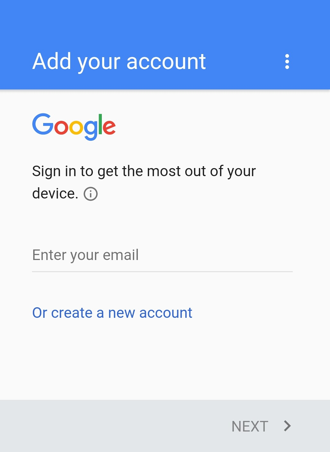 how to create play store account on android