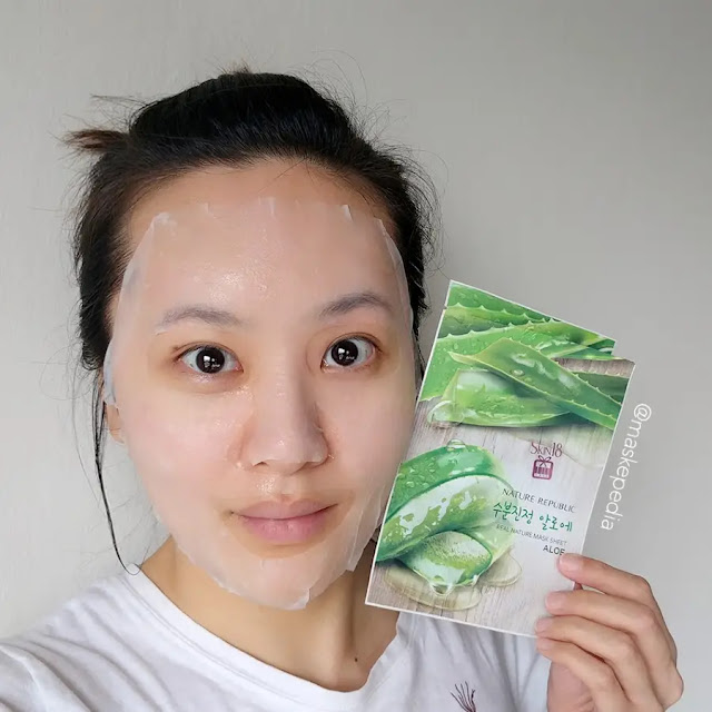 Masker Wajah Korea - Nature Republic