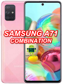 Samsung A71 SM-A715W Combination Firmware/Stockrom/Flashfile Download