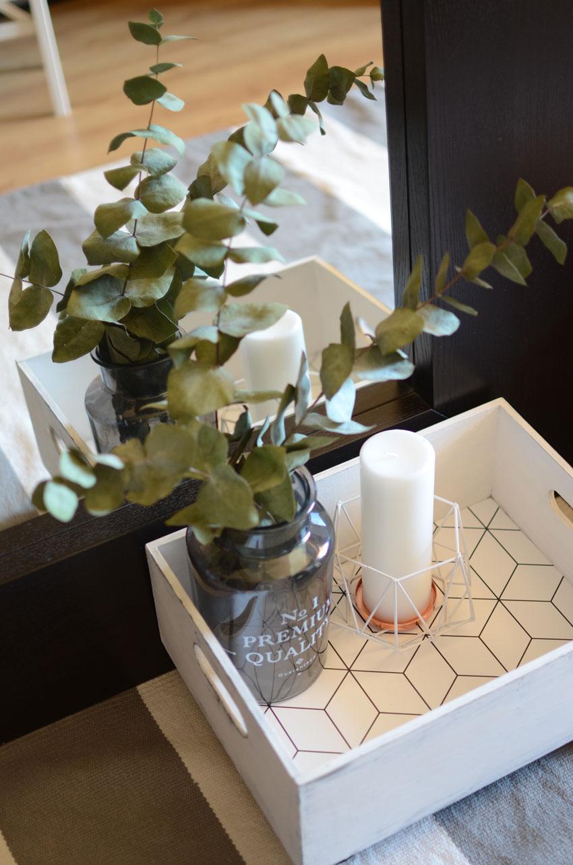 Diy caja madera decorada con papel pintado blog de decoraci n diy ideas low cost para - Papel pintado para recibidores ...