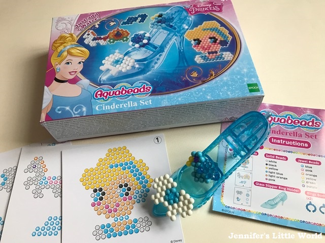 Jennifers little world blog parenting craft and travel review review aquabeads disney princess cinderella set altavistaventures Image collections