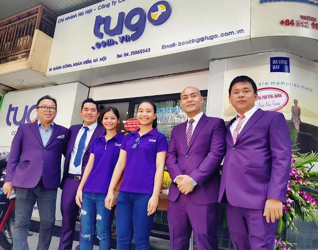 Tugo sau 3 năm đã trở thành công ty lớn thứ 3 trong thị trường tour du lịch