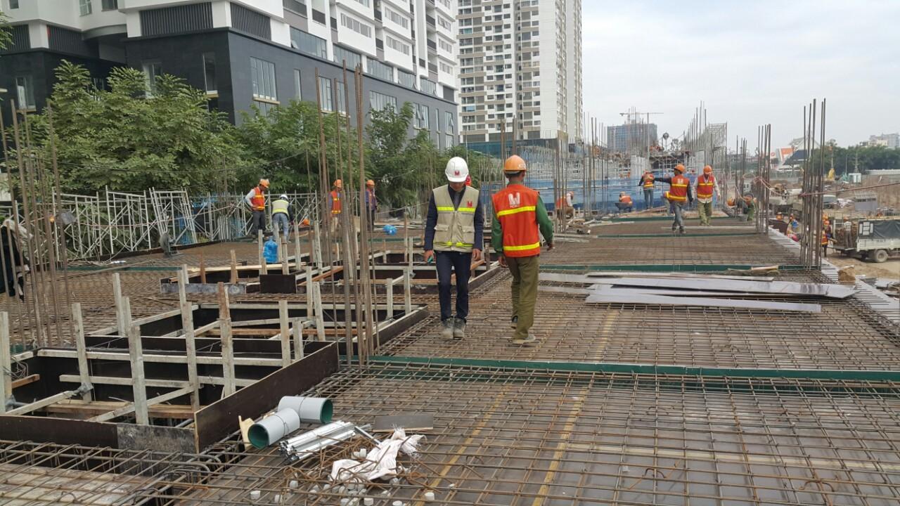 Cập nhật tiến độ dự án Embassy Garden ngày 23-11-2017