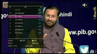 Latest DVB-T2 / DTT Channels List in Delhi, India