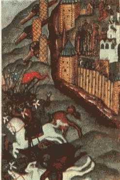 Закладка первой церкви на р. Тихвинке. XIV век.