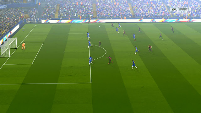 PES 2017 Realistic Fog untuk AZ Stadium + SweetFX Natural Colour