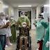MAIS UM PACIENTE É CURADO DA COVID-19 NO HOSPITAL REGIONAL ALUÍZIO BEZERRA