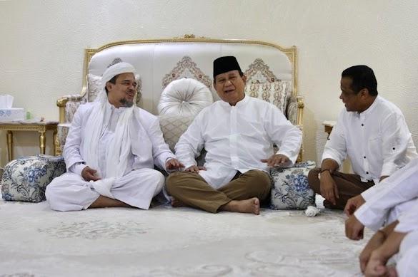 HRS Diawasi di Arab Saudi Setelah Ketemu Prabowo