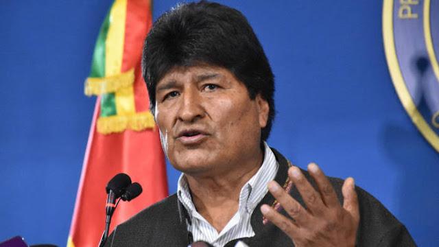 Presiden Bolivia Evo Morales Mengundurkan Diri