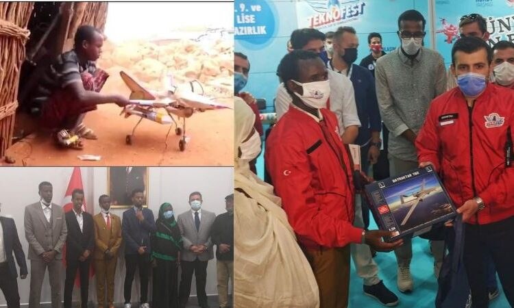 Viral, Mampu Membuat Pesawat dari Barang Bekas, Pemuda Somalia Dibawa ke Turki Untuk Belajar Teknologi